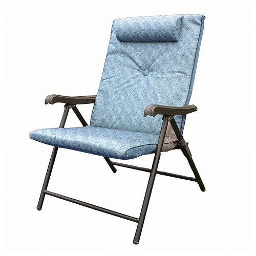 Prime Products 13 3372 Blue Prime Plus Folding Chair